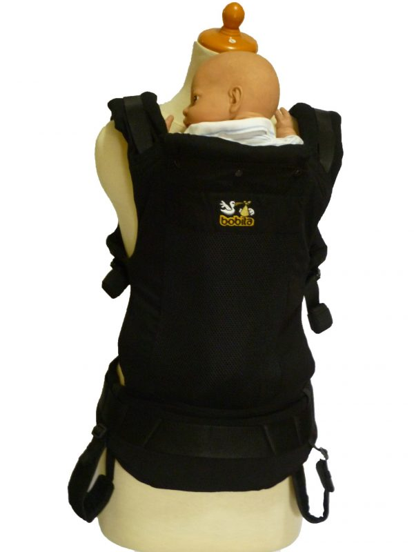 BOBITA SSC ERGONOMICS BABY CARRIER – Black