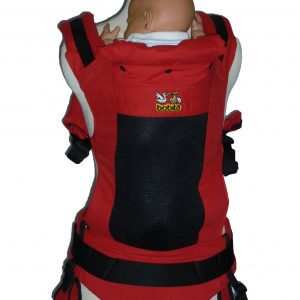 BOBITA SSC ERGONOMICS BABY CARRIER – Red