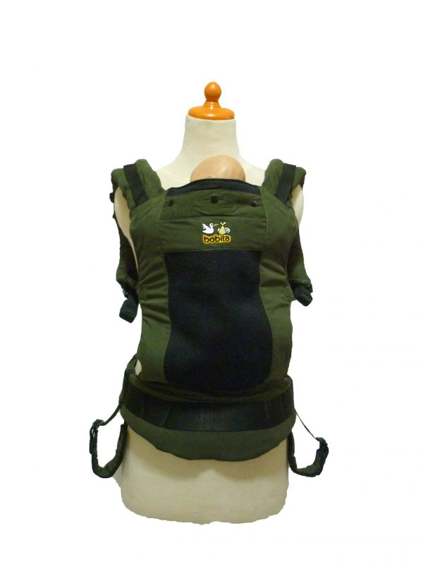 BOBITA SSC ERGONOMICS BABY CARRIER – Army Green