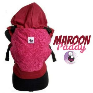 NaNa SSC Ergonomics Baby Carrier – STANDARD SIZE (Maroon Paddy)