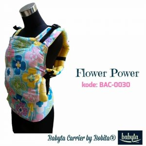 Babyta SSC Ergonomics Baby Carrier by Bobita – PRE-TODDLER SIZE (Flower Power)