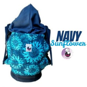 NaNa SSC Ergonomics Baby Carrier – STANDARD SIZE (Navy Sunflower)