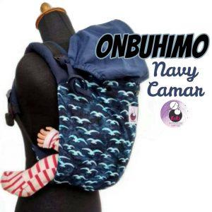 NaNa Ergonomics Baby Carrier – Onbuhimo (Navy Camar)