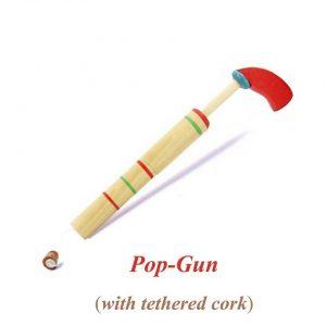 Wooden Cork Gun