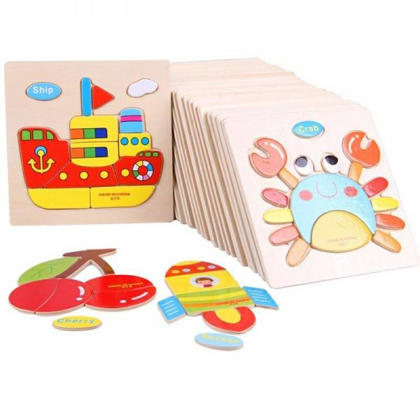 Wooden Picture Kids Puzzle