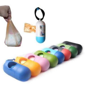Disposable Plastic Bag with Case