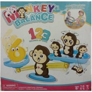 Monkey Balancing Counting Game