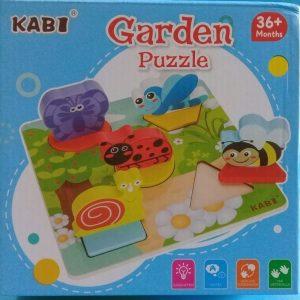 Wooden Puzzle (Garden)