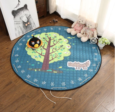 Play Mat Round Carpet (Tree)