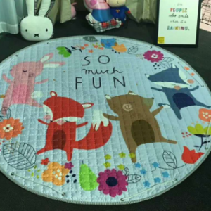 Play Mat Round Carpet (Fox Fun)