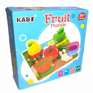 Wooden Puzzle (Fruit)