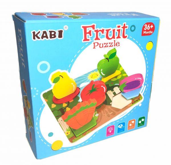 Wooden Puzzle (Fruit)