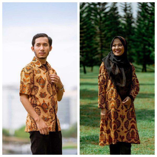 Batik Couple Ibu Ayah (Keraton)