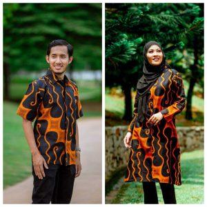 Batik Couple Ibu Ayah (Parang Oren)