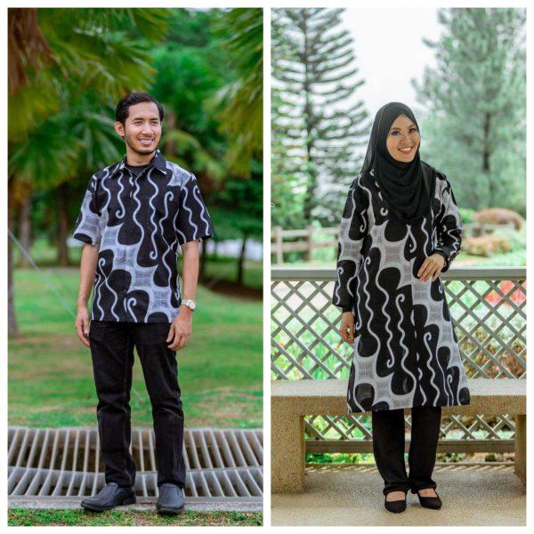 Batik Couple Ibu Ayah (Parang White)
