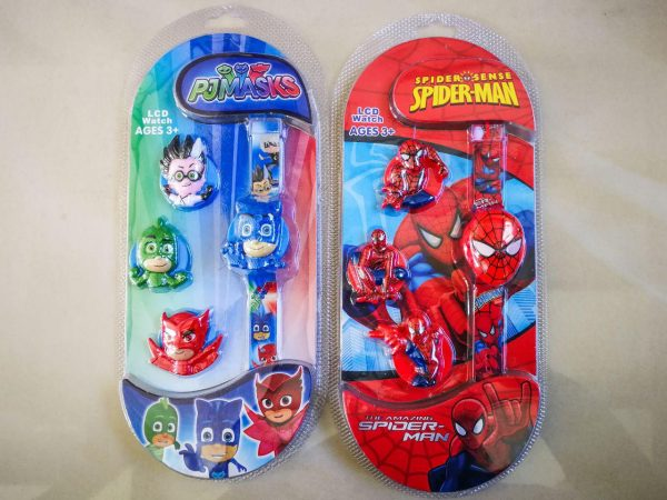 Kids LCD Watch Cartoon Design