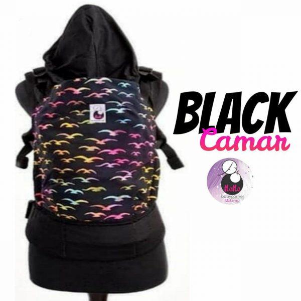 NaNa SSC Ergonomics Baby Carrier – STANDARD SIZE (Black Camar)