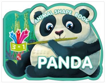 Animal Shape Book – Panda