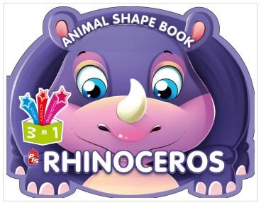 Animal Shape Book – Rhinoceros