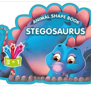 Animal Shape Book – Stegosaurus