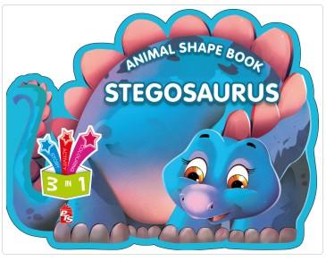 Animal Shape Book – Stegosaurus