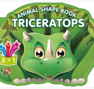 Animal Shape Book – Triceratops