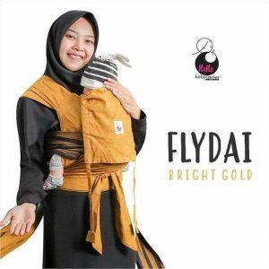 Fly Dai Tenun by Nana Babycarrier (Bright Gold)