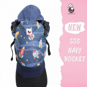NaNa SSC Ergonomics Baby Carrier – STANDARD SIZE (Navy Rocket)