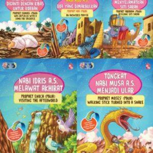 Set Siri Mukjizat Rasul (5 buah buku)