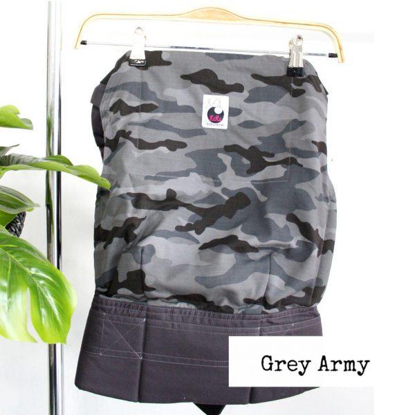 NaNa SSC Ergonomics Baby Carrier – STANDARD SIZE (Grey Army)