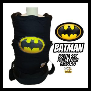 Special Edition Panel Cover for Bobita Baby Carrier – BATMAN