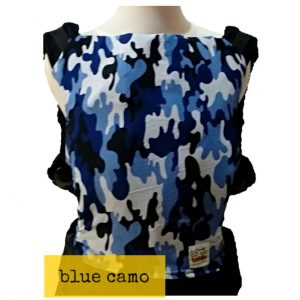 Panel Cover for Bobita Baby Carrier (BLUE CAMO)