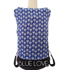 Panel Cover for Bobita Baby Carrier (BLUE LOVE)