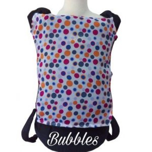 Panel Cover for Bobita Baby Carrier (BUBBLES)