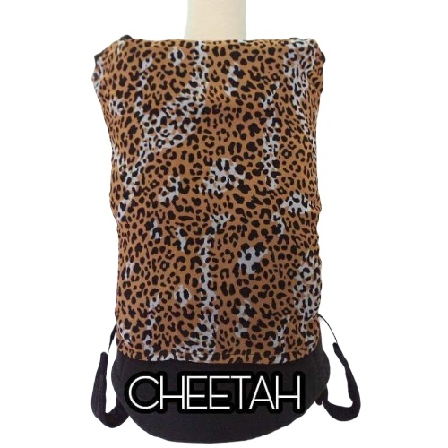 Panel Cover for Bobita Baby Carrier (CHEETAH)