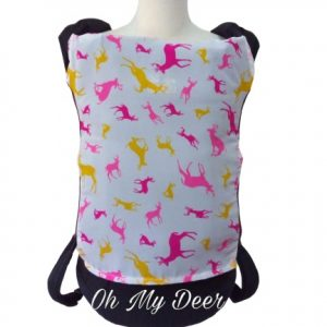 Panel Cover for Bobita Baby Carrier (OH MY DEER)