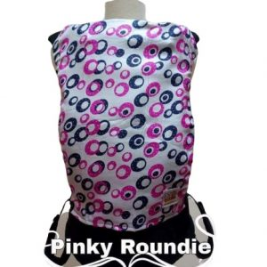 Panel Cover for Bobita Baby Carrier (PINKY ROUNDIE)