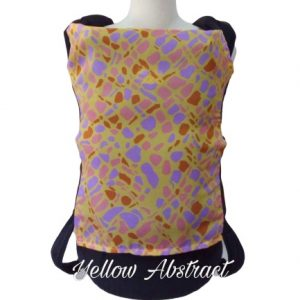 Panel Cover for Bobita Baby Carrier (YELLOW ABSTRACT)