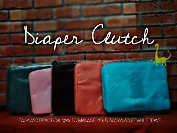 Travel Diaper Pouch Clutch