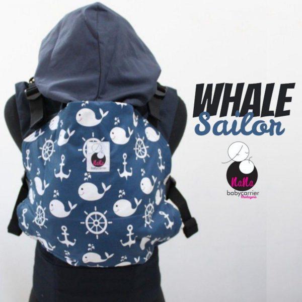 NaNa SSC Ergonomics Baby Carrier – STANDARD SIZE (Whale Sailor)