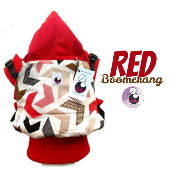 NaNa SSC Ergonomics Baby Carrier – TODDLER SIZE (Red Boomerang)