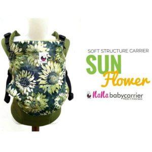 NaNa SSC Ergonomics Baby Carrier – STANDARD SIZE (Sun Flower)
