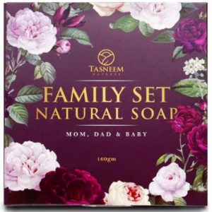 Tasneem Naturel Family Set Natural Soap