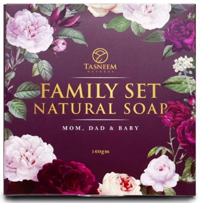 Tasneem Naturel Family Set Natural Soap