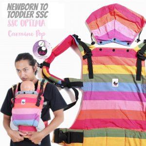 NaNa Optima SSC Ergonomics Baby Carrier – (Carmaine Pop)