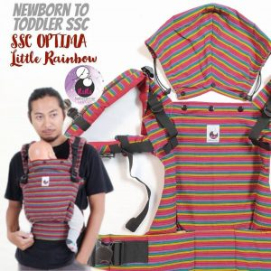 NaNa Optima SSC Ergonomics Baby Carrier – (Little Rainbow)