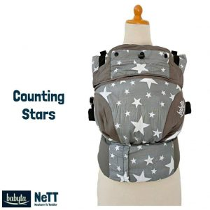 Babyta NeTT SSC Ergonomics Baby Carrier by Bobita (Counting Stars)