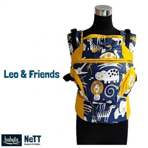 Babyta NeTT SSC Ergonomics Baby Carrier by Bobita (Leo & Friends)