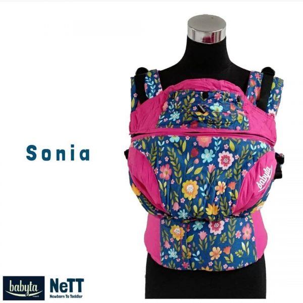Babyta NeTT Adjustable SSC Ergonomics Baby Carrier by Bobita (Sonia)