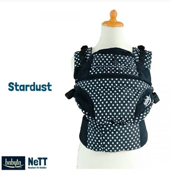 Babyta NeTT Adjustable SSC Ergonomics Baby Carrier by Bobita (Star Dust)